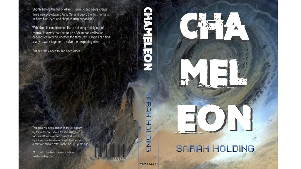 CHAMELEON: a YA novel set during the fall of Atlantis project video thumbnail