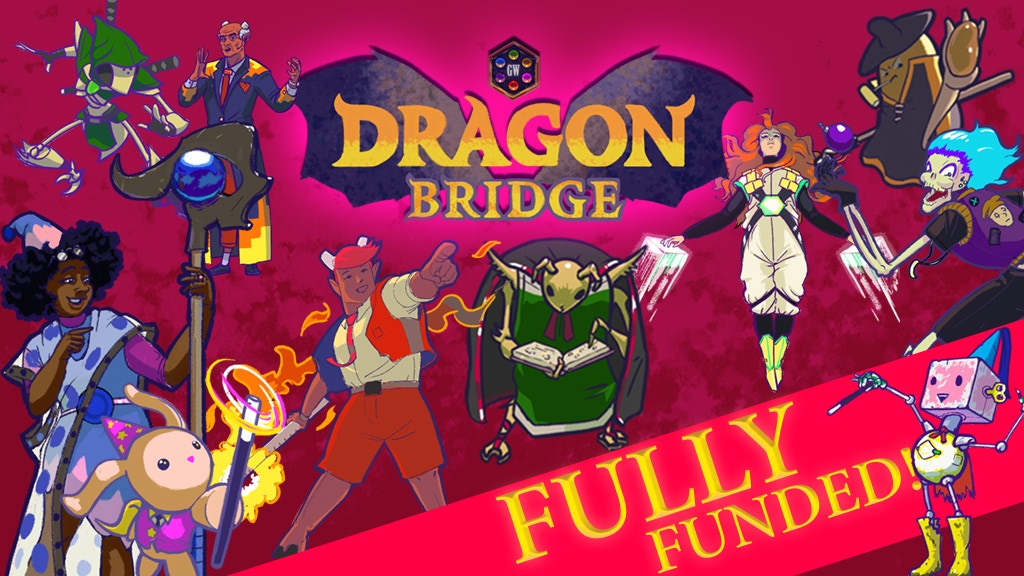 Dragon Bridge: A magical card battle for two players project video thumbnail