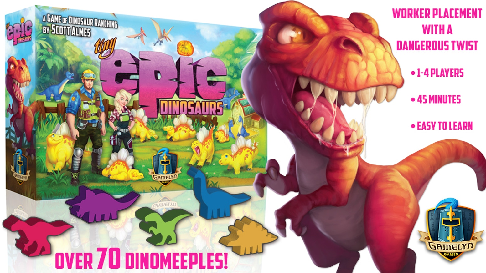 Tiny Epic Dinosaurs by Gamelyn Games — Kickstarter