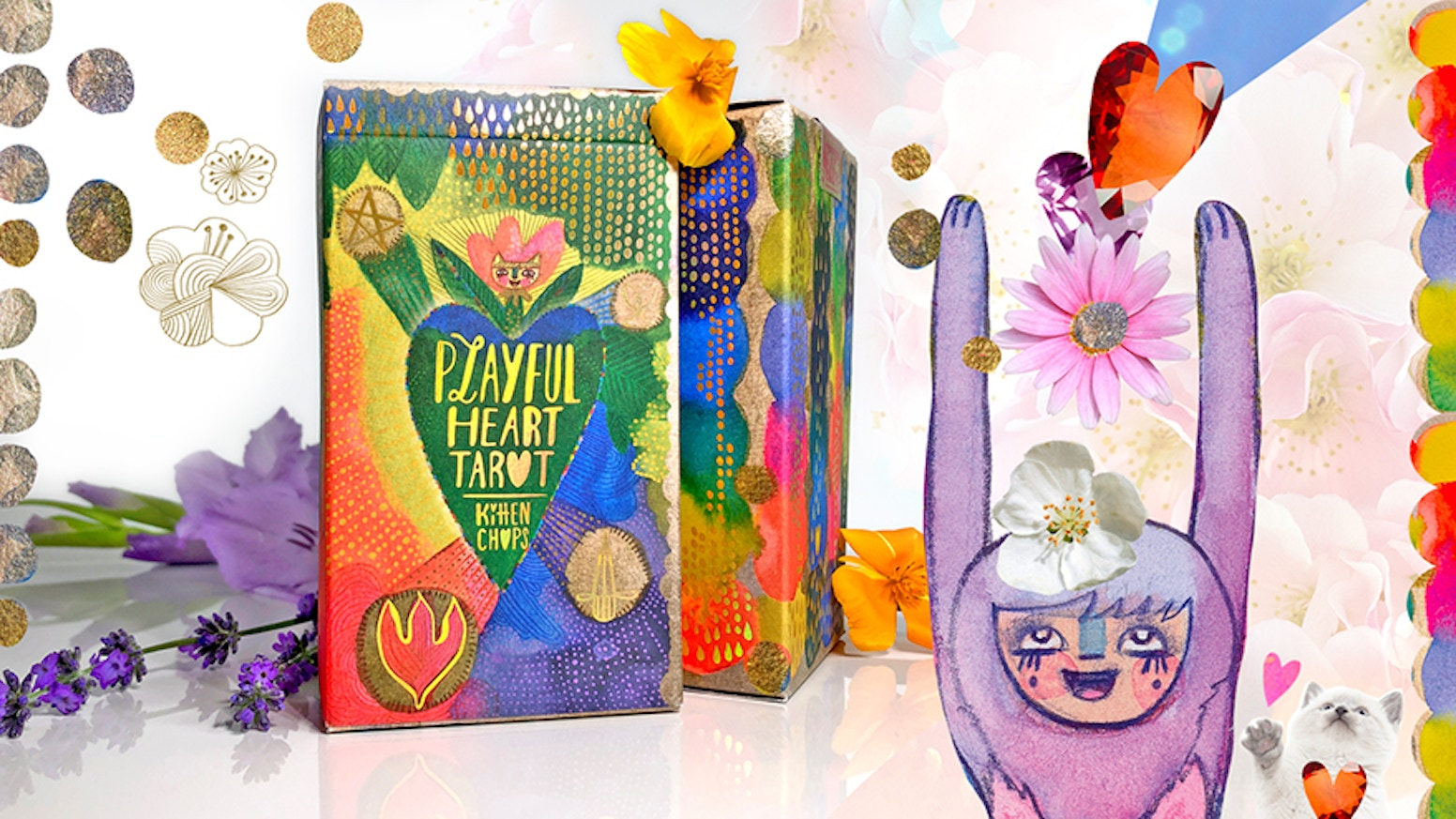 Instant divine, intuitive access to tarot wisdom via the Power of Cuteness for all ages.