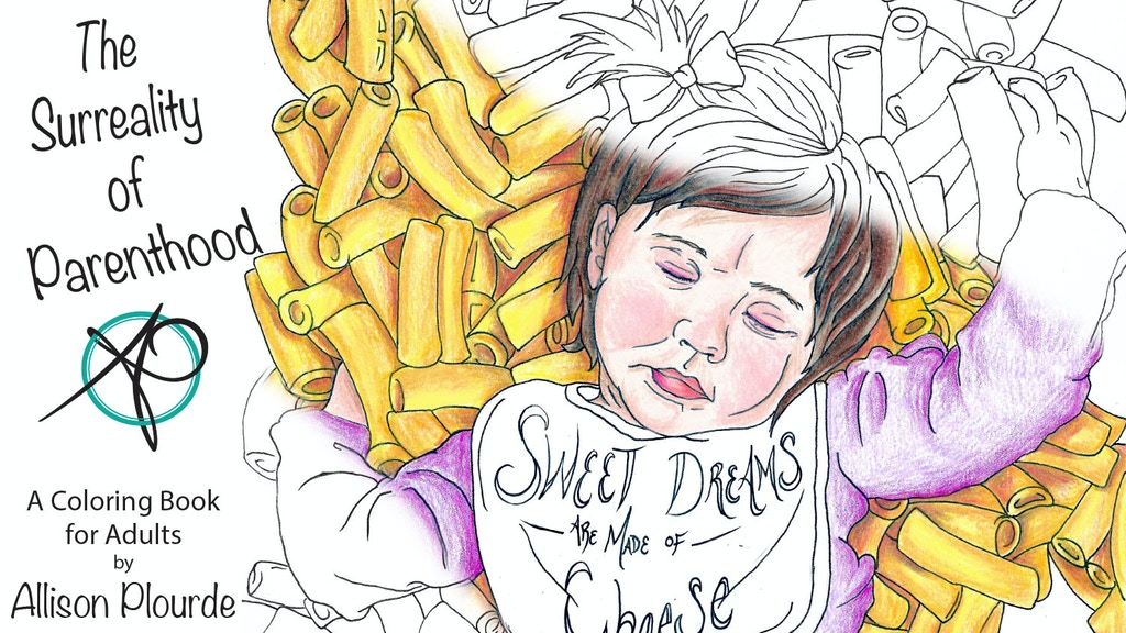 Project image for The Surreality of Parenthood: A coloring book for Adults