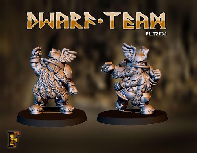Dwarf Team - Football Fantasy - Fanath