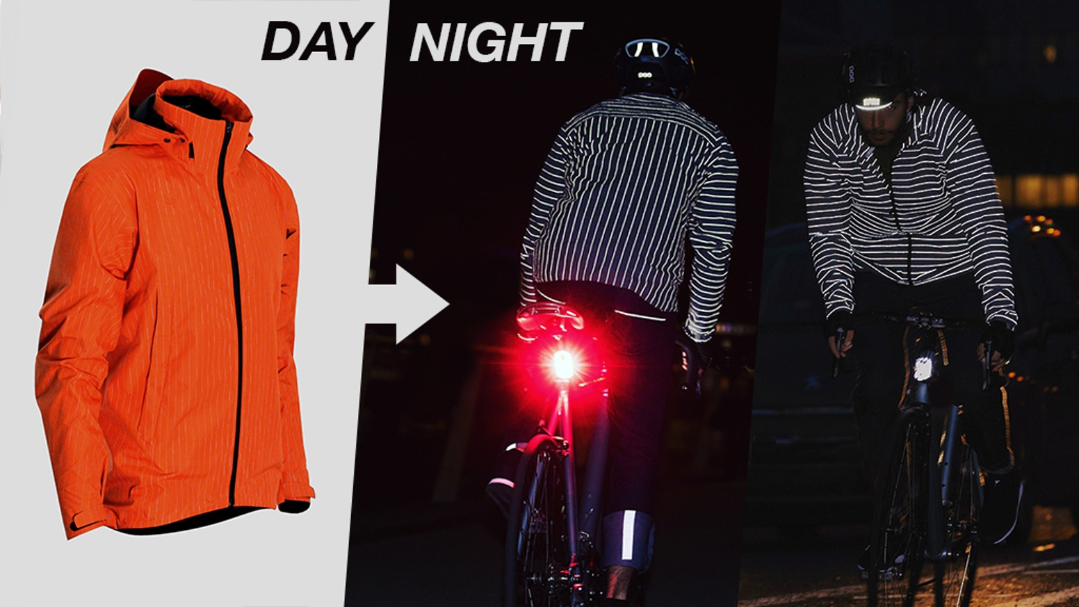 Reflective | Water-proof | Breathable | Packable | x3 Colours | Mens + Womens