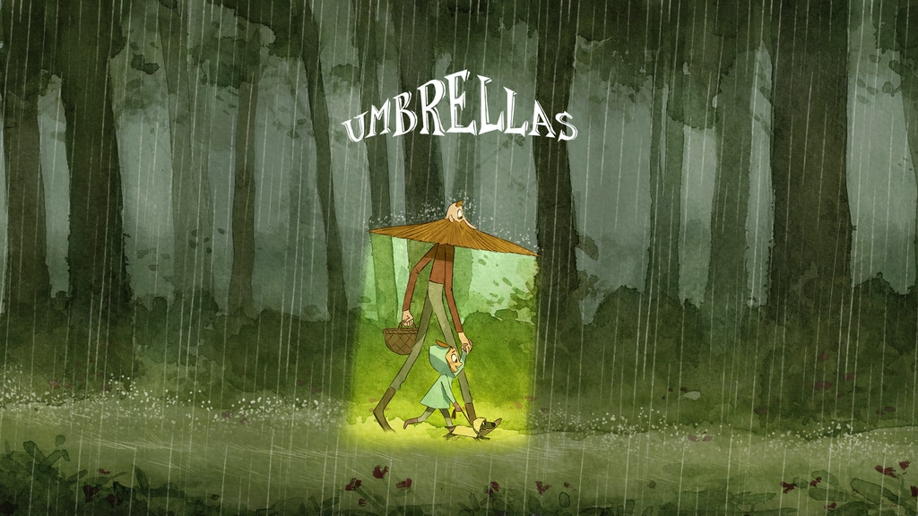 Umbrellas - an animated short film project video thumbnail
