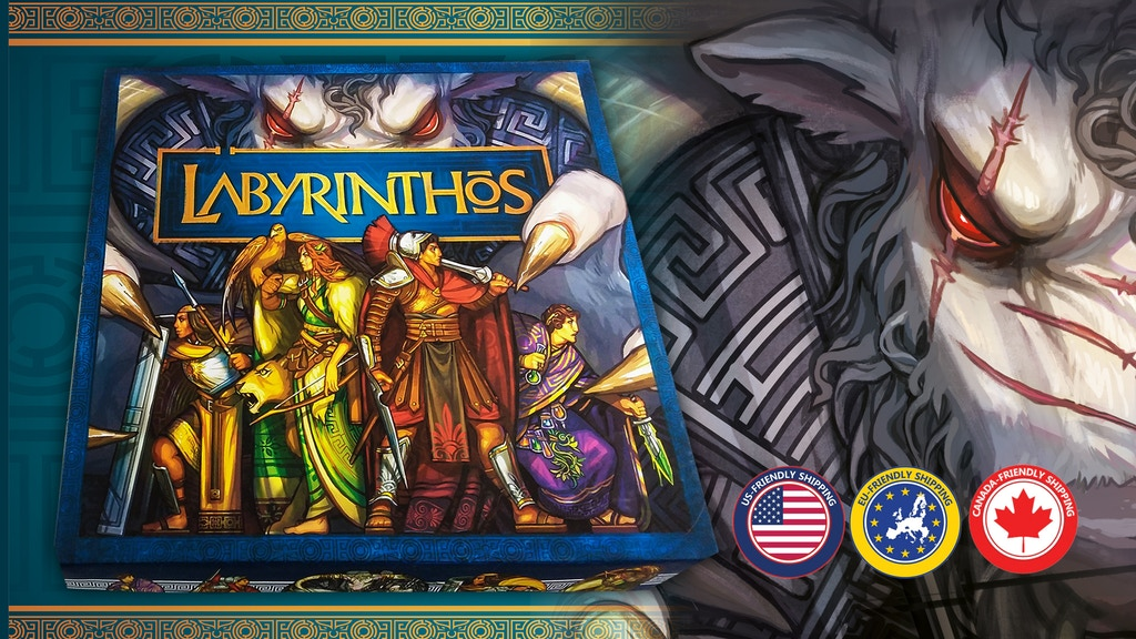 Labyrinthos project video thumbnail