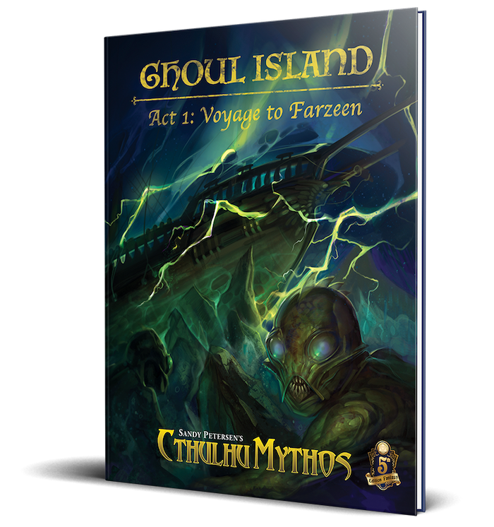 The First Role-playing Campaign for Sandy Petersen's Cthulhu Mythos 5e