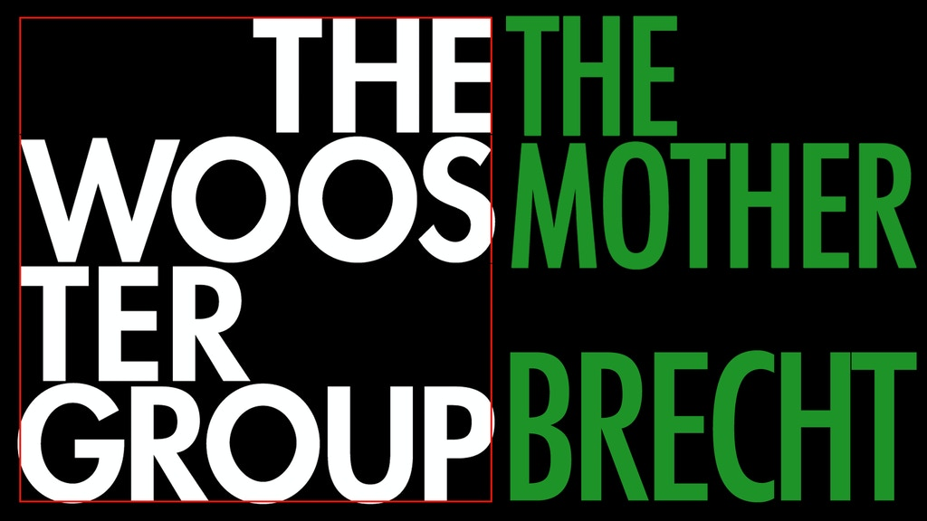 THE WOOSTER GROUP / THE MOTHER / HELP! project video thumbnail