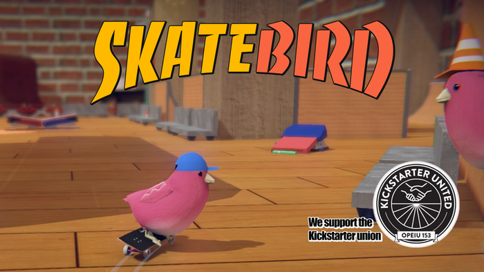 Kickflip over staplers in this skateboarding video game about birds who try their best. It even has a tiny hawk!