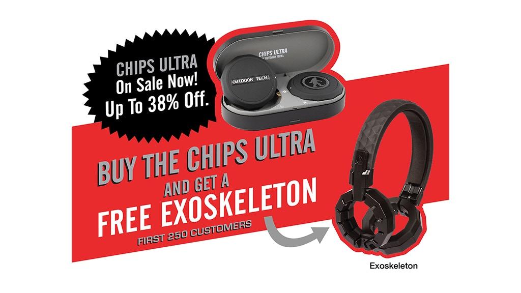 The Chips Ultra: True Wireless Snow Helmet Audio project video thumbnail