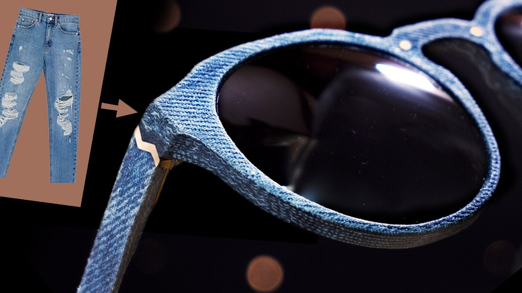 Shades of Denim | Unwanted Thigh-Wear to Luxury Eyewear project video thumbnail