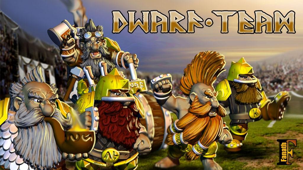 Dwarf Team - Football Fantasy - Fanath project video thumbnail