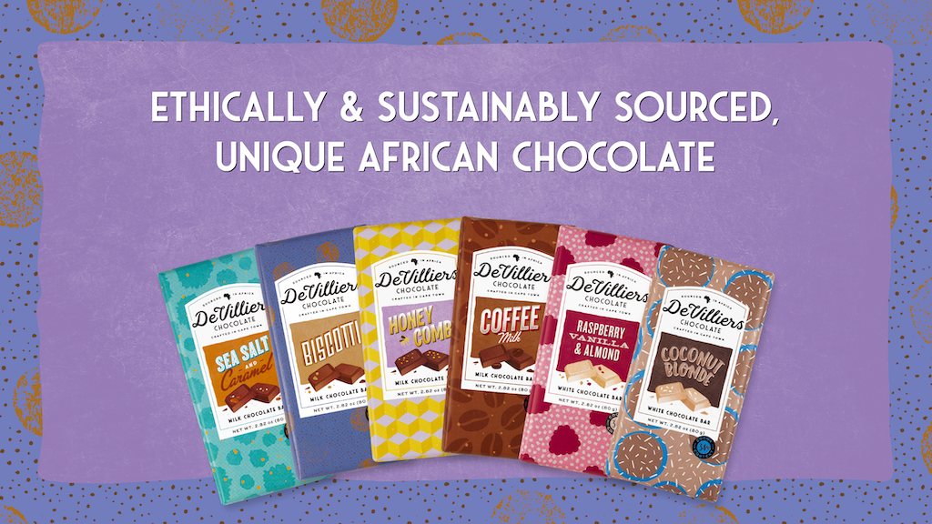 UNIQUE ETHICALLY & SUSTAINABLY SOURCED CHOCOLATE FROM AFRICA project video thumbnail