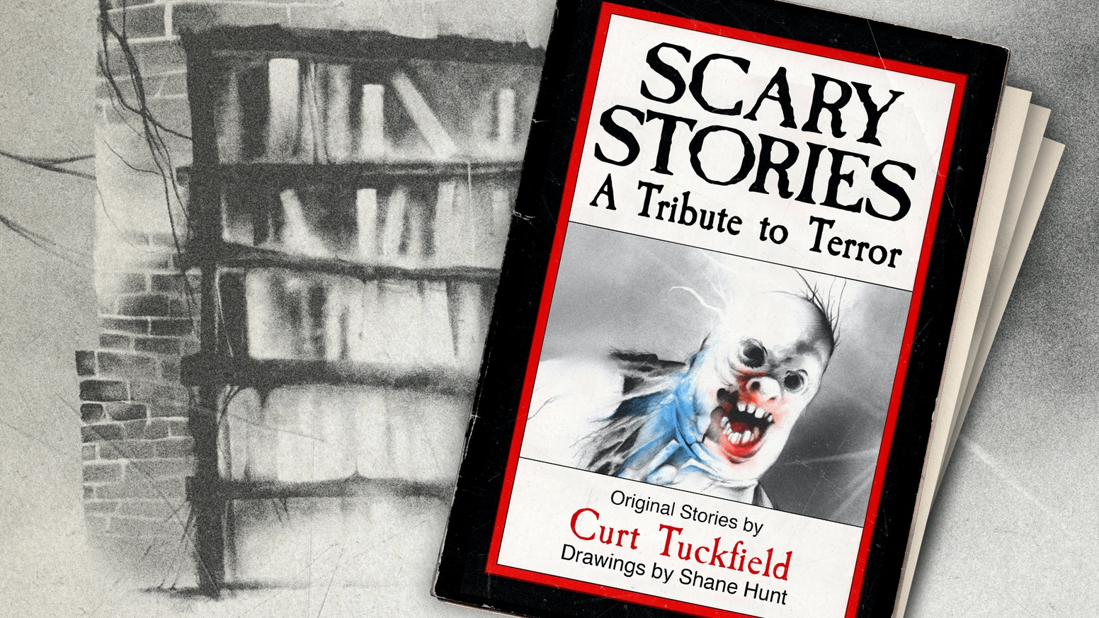 A new book of original stories and illustrations that pay tribute to the work of Alvin Schwartz and Stephen Gammell.