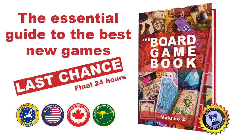 The Board Game Book, Volume 2 project video thumbnail