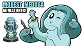 Modest Medusa miniatures! thumbnail