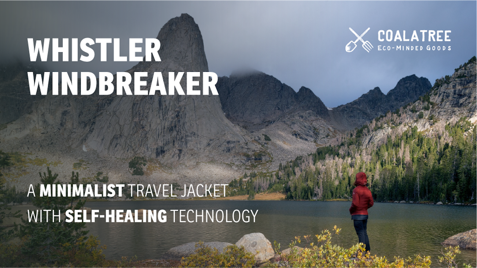 The self-healing minimalist jacket that does it all.