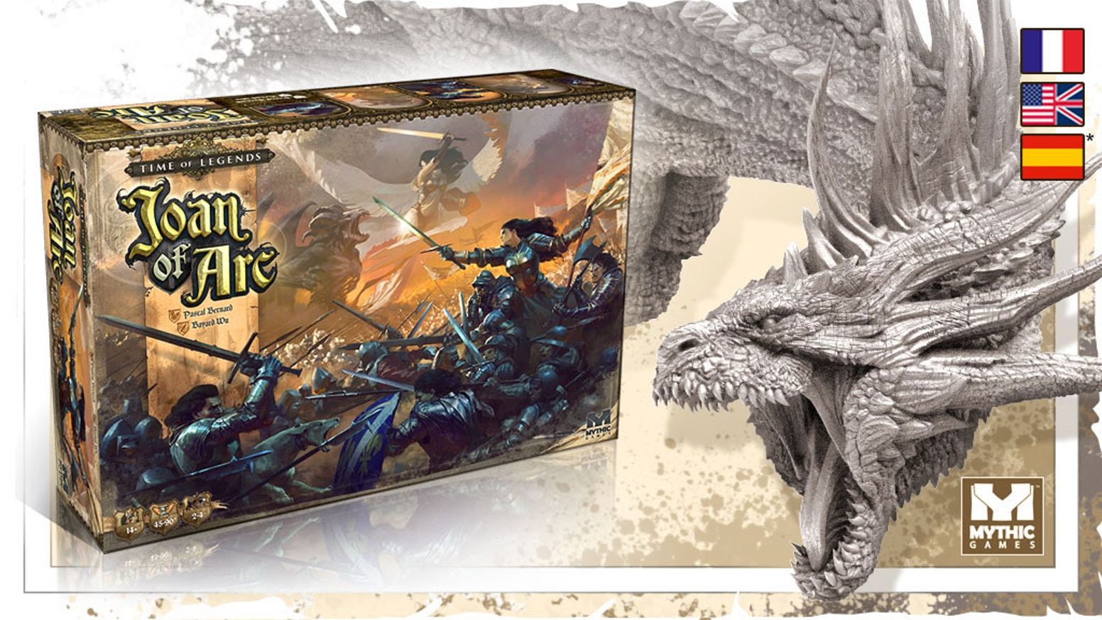 The legendary game is back! Relive the golden age of chivalry in this 2-4 player scenario-based board game of medieval battle and myth.