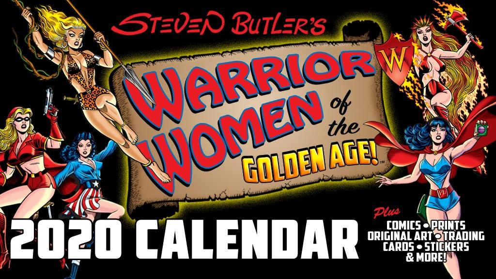 Steven Butler's Warrior Women of the Golden Age Calendar project video thumbnail