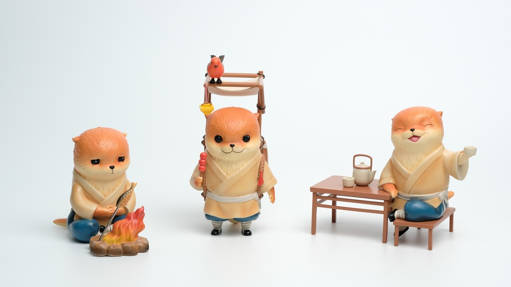 Mr Otter: Limited Edition Art Toys by Bluepiper Studio project video thumbnail