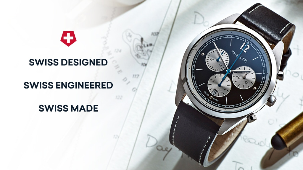 Swiss Made Watches In Automatic | Chronograph | 41MM & 36MM project video thumbnail