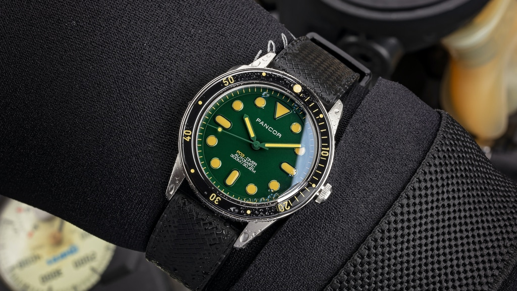 Pancor P03 | lightweight boutique dive watch project video thumbnail