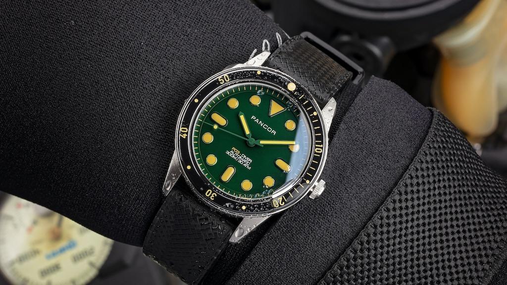 Pancor P03 | lightweight boutique dive watch project video thumbnail