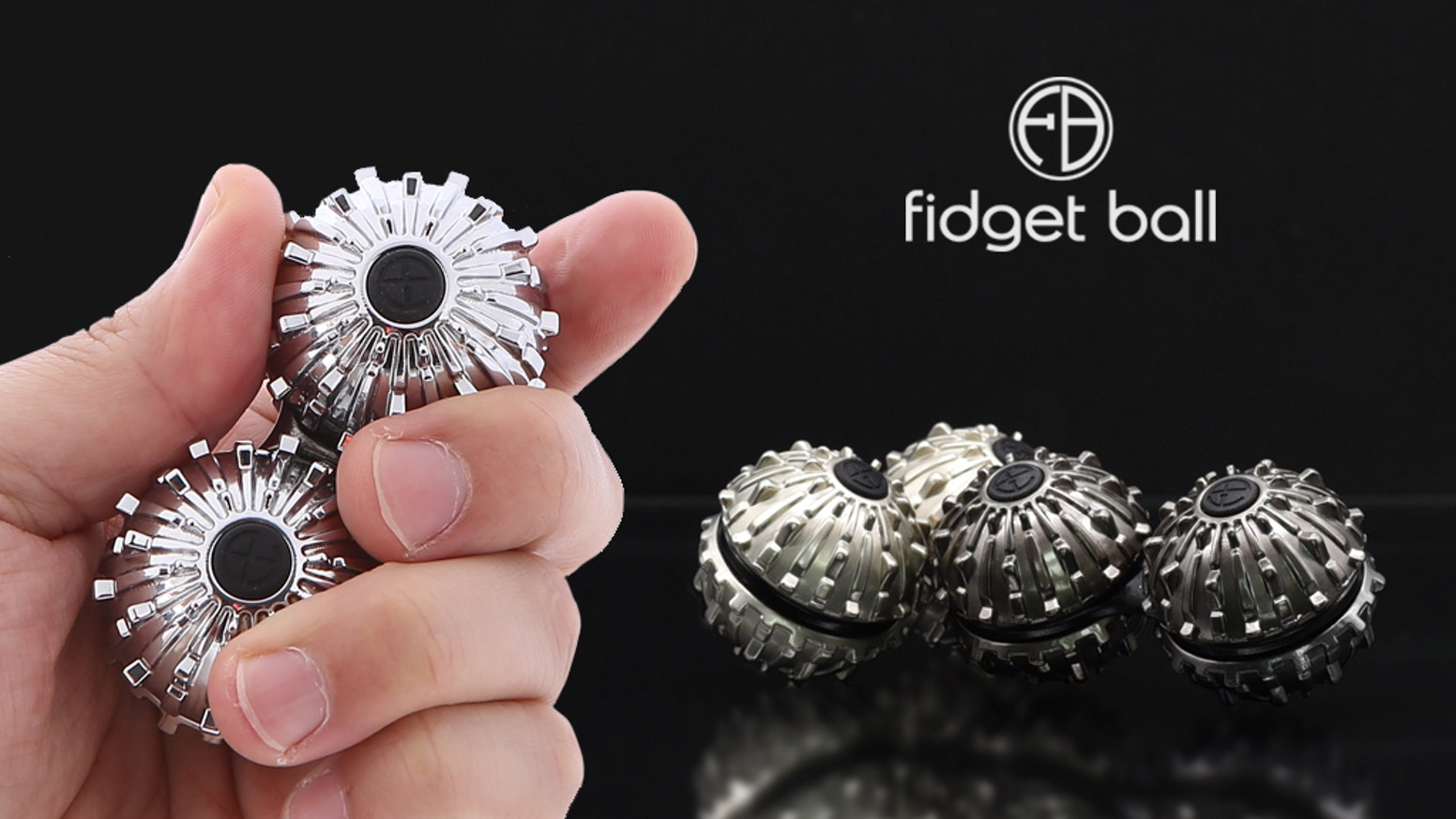 Fidget Ball is designed to help you enhance your focus through perpetual fidgeting motions, soft ASMR sounds, & therapeutic massages.