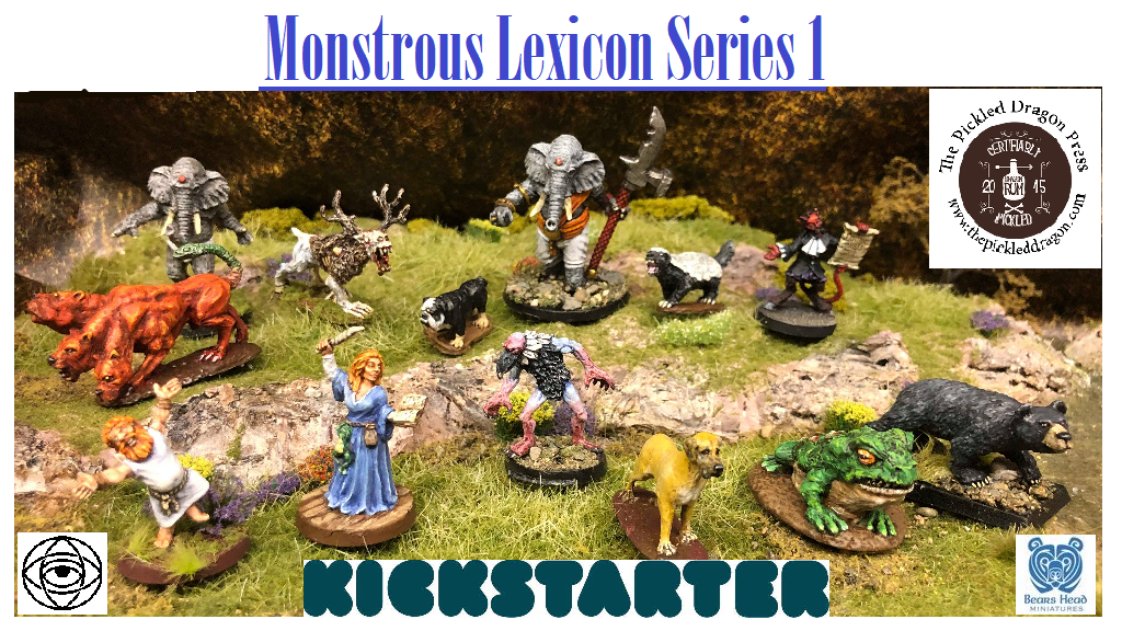 Project image for Bears Head Minis & The Pickled Dragon - Monstrous Lexicon 1