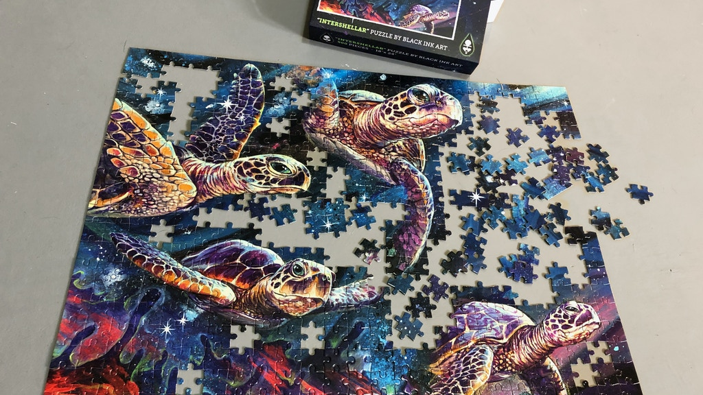 """Project image for Intershellar Jigsaw Puzzle ~ 24"""" X 18"""" 500 piece puzzle"""