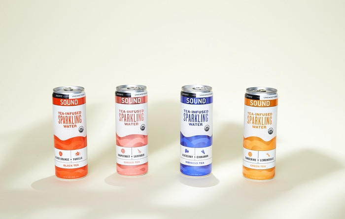 Launching the world's first tea-infused sparkling water.