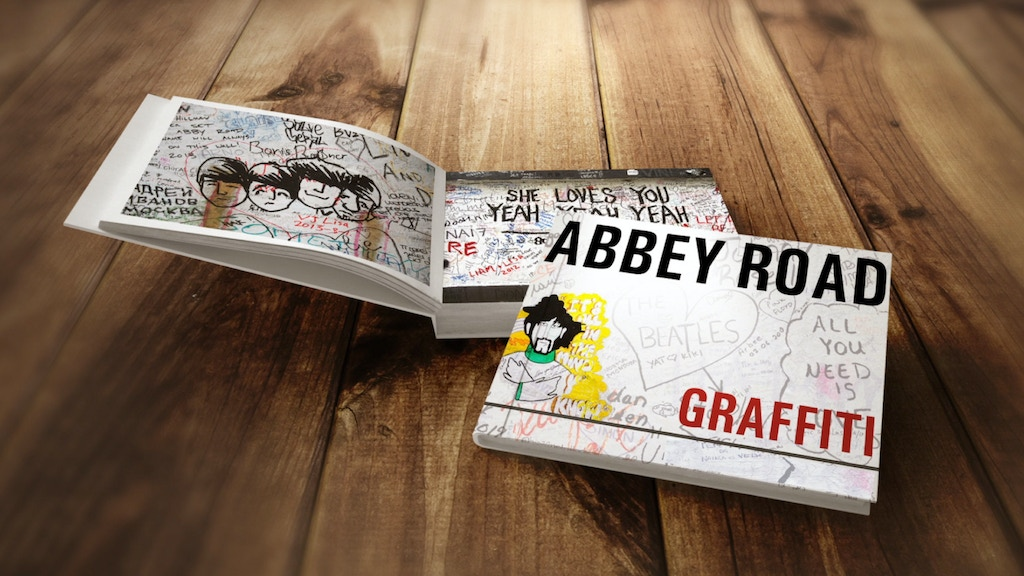 Abbey Road Graffiti Book project video thumbnail