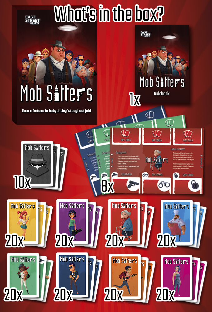 Mob Sitters: The fun party game of babysitting for the mob!