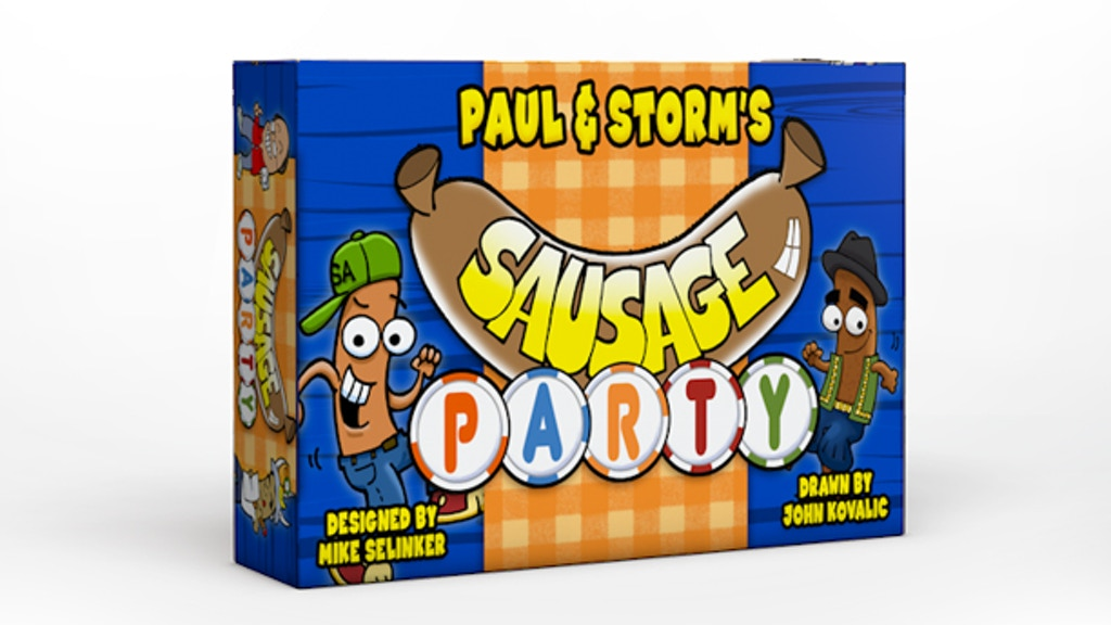 Update 5: The Geeky Hostess's Sausage Treat, and More Games for Sausage Party! · Paul and Storm's SAUSAGE PARTY