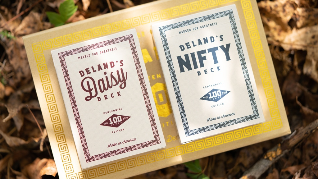 DeLand Centennial - Daisy & Nifty Marked Playing Cards project video thumbnail