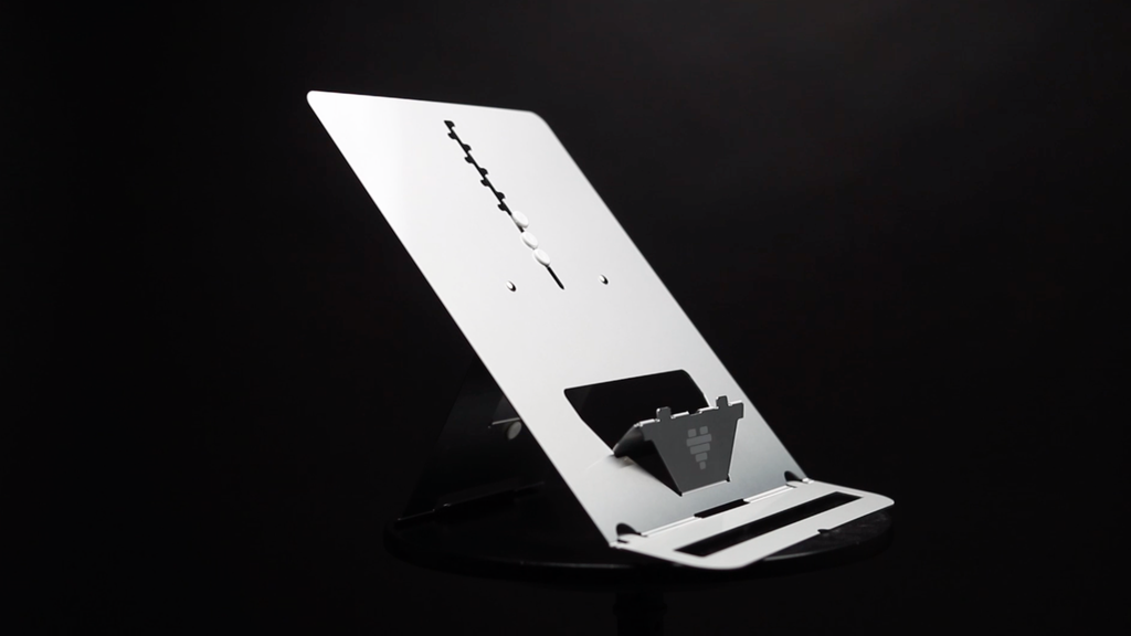 ULTRA - the thinnest and most ergonomic laptop stand project video thumbnail