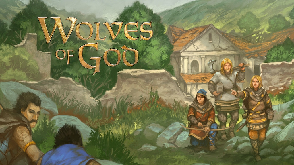 Project image for Wolves of God: Adventures in Dark Ages England