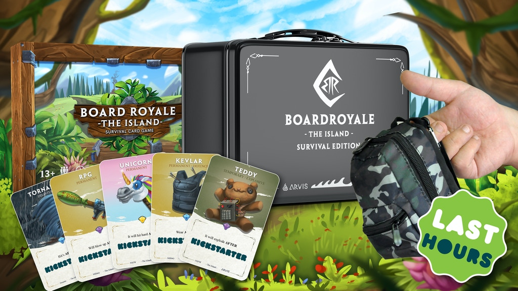 BOARD ROYALE - SURVIVAL CARD GAME project video thumbnail