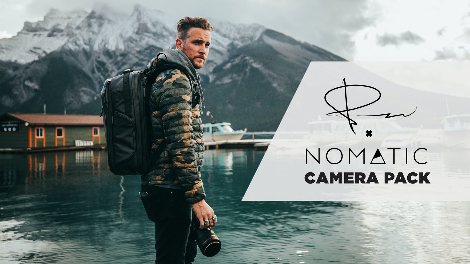 A Functional Camera Pack for all types of travelers!  Just you, one bag, and the adventure!