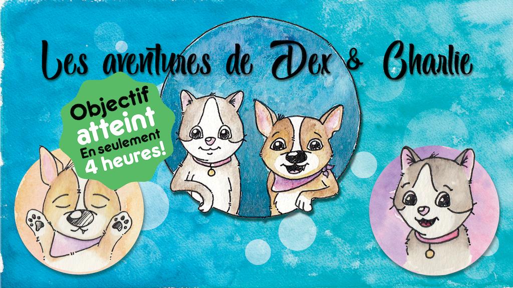 Miniature de la vidéo du projet Dex et Charlie : Le livre!