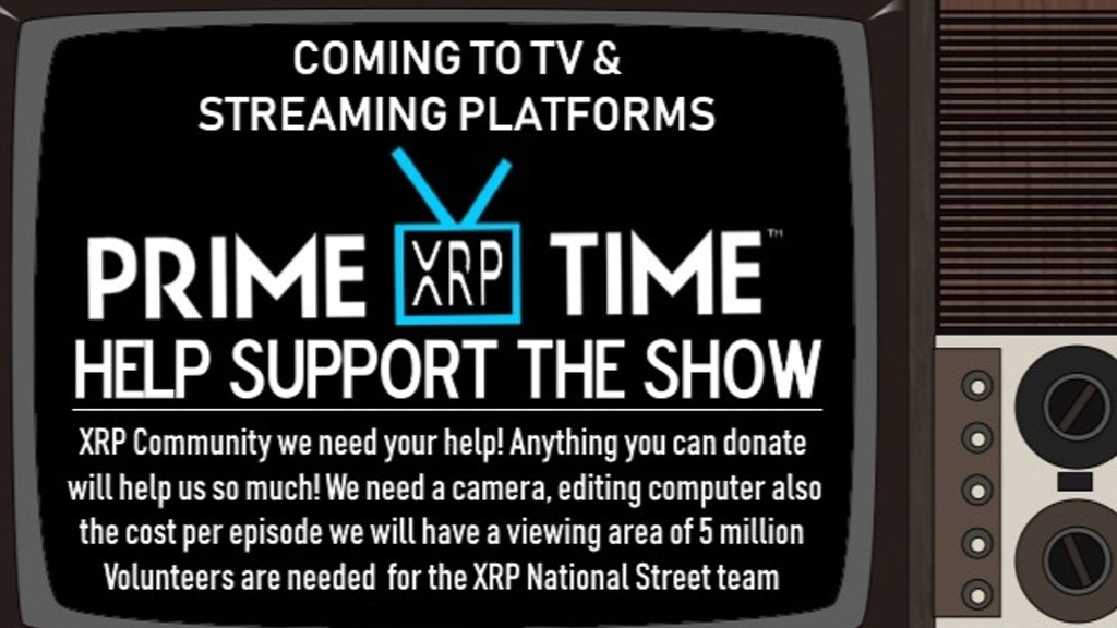 Project image for Prime Tyme XRP The television show!