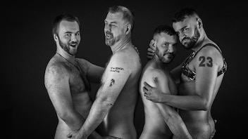 2020 Nude Male Form Calendar & Naughty Santa Xmas Cards