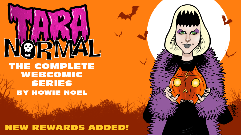 Tara Normal: The Complete Webcomic Series project video thumbnail