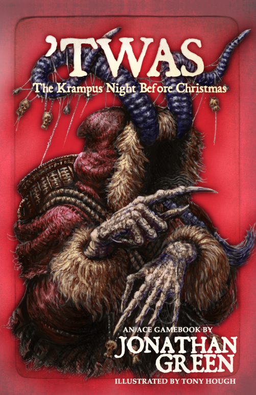 An interactive adventure gamebook inspired by 'A Visit From Saint Nicholas' by C. C. Moore and legends of Krampus the Christmas Devil.