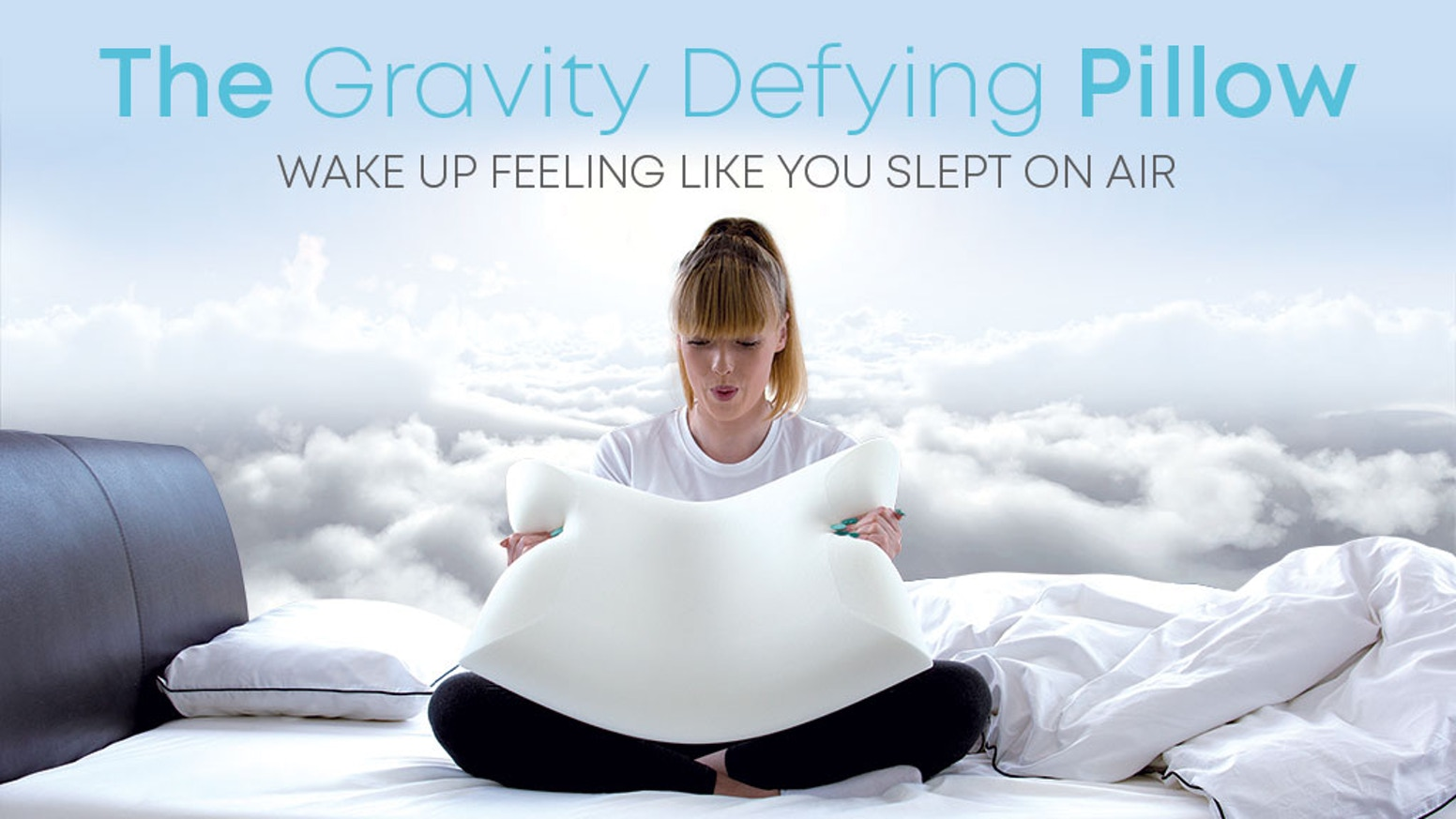 A game changing pillow made from a ground breaking new foam - Now available to buy from our website.