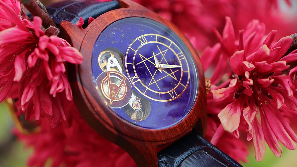 NOZ timepieces- Beautiful combination of natural materials. project video thumbnail