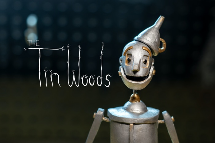 The Tin Woods is an experimental short film about identity and loss from the point of view of the Tin Woodman of Oz.