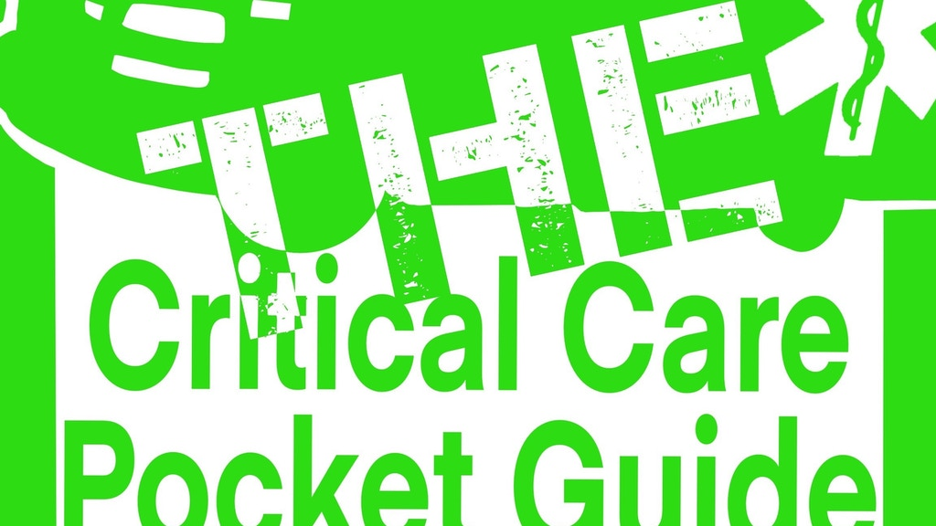 Project image for THE Critical Care Pocket Guide