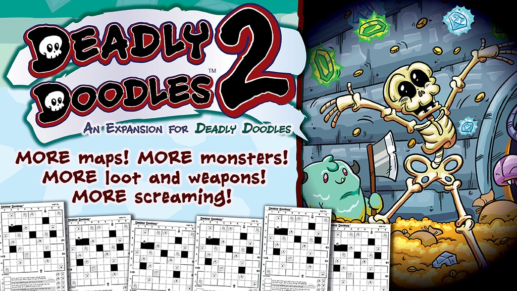 Steve Jackson Games' Deadly Doodles Expansion project video thumbnail