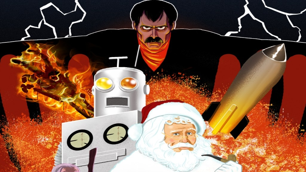 Project image for Santa Claus Conquers Manos: The Hands Of Fate