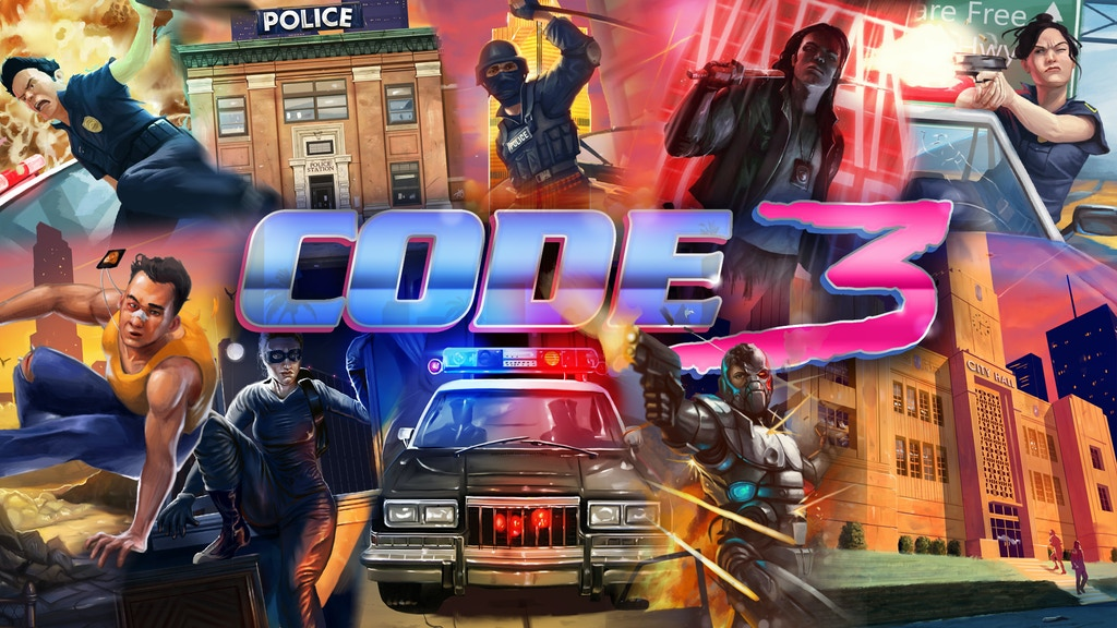 Code 3 project video thumbnail